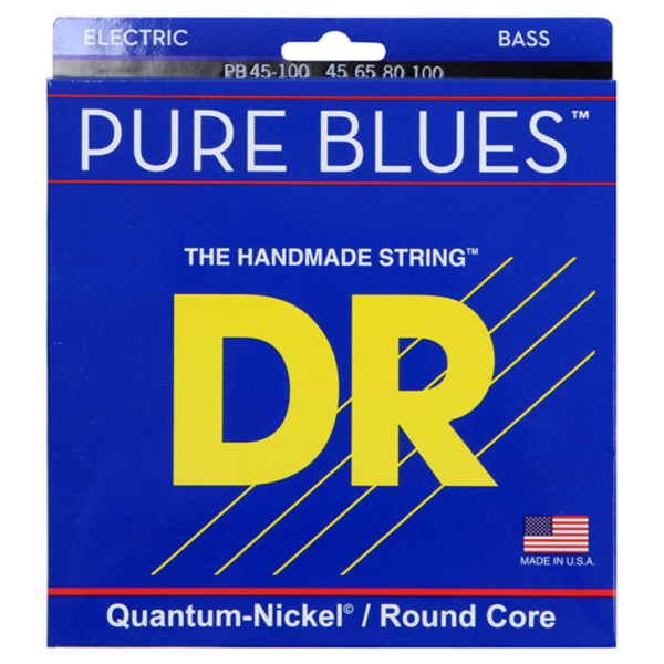 DR Quantum nickel/Round core PURE BLUES PB45-100 4현 베이스용