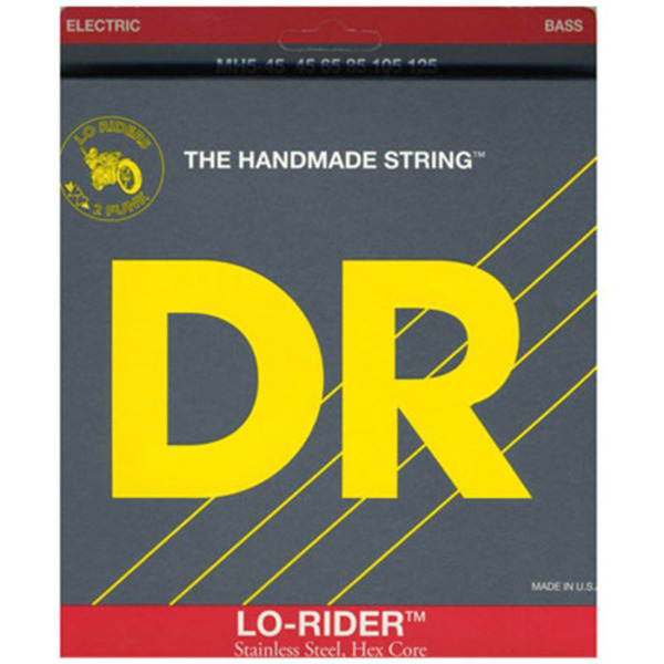 DR Lo Rider Stainless 5현 MH5-45(045-125)   5현베이스용