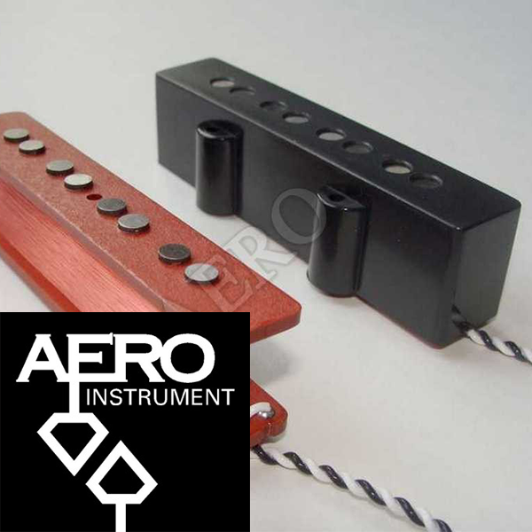 Aero JB4 Type 3 4 String Jazz L/S Size Single Coil Set  에어로픽업 4현용 세트