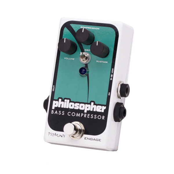 Pigtronix Philosophers Bass Compressor 베이스 컴프레셔