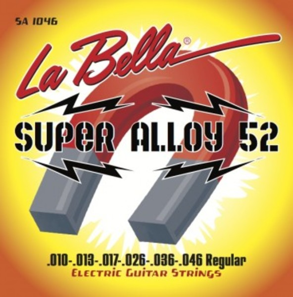 [La Bella] 일렉기타 스트링 - SA1046 Super Alloy 52 - Regular 10-46