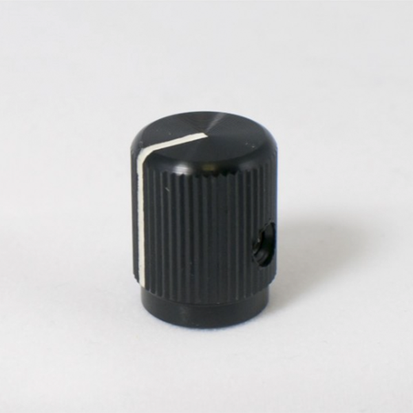KILO Small Black Aluminum Knob
