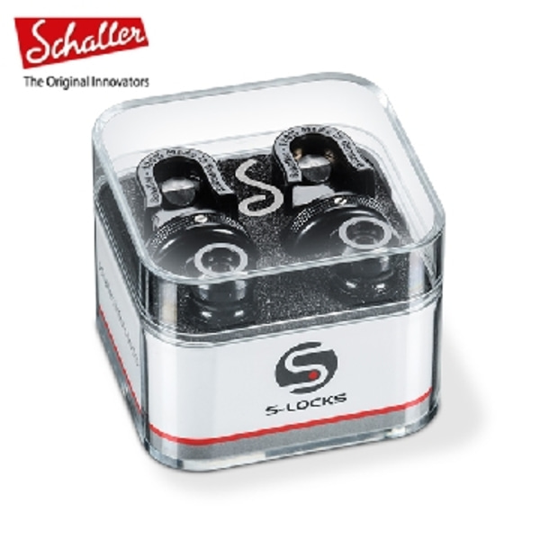 Schaller Strap Lock S-LOCK BC [Black Chrome]