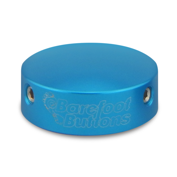 BAREFOOTBUTTONS  베어풋버튼 V1 LIGHT BLUE (10mm)