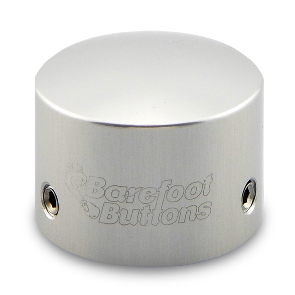 BAREFOOTBUTTONS  베어풋버튼 V1 TALL BOY SILVER (10mm)