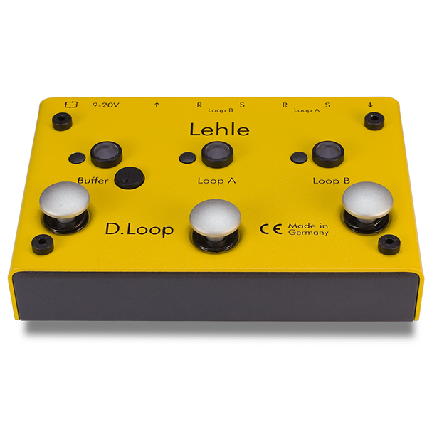 Lehle D-Loop SGOS Stereo Effects Looper/Switcher(관부과세포함) 당일발송