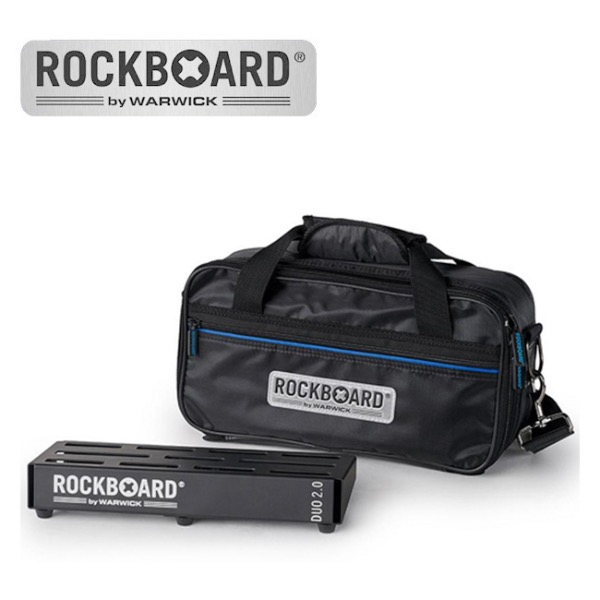 [2019 New] RockBoard DUO 2.0 with Pro Gig Bag 페달보드 + 케이스