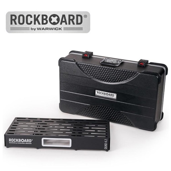 [2019 New] RockBoard QUAD 4.2 with ABS Case 페달보드 + 케이스