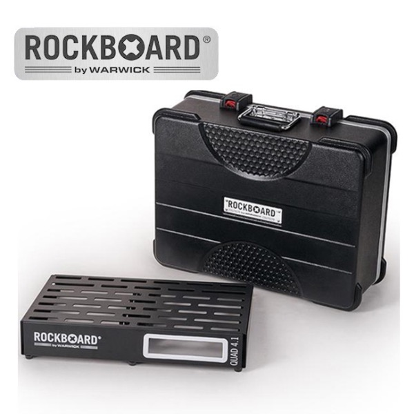 [2019 New] RockBoard QUAD 4.1 with ABS Case 페달보드 + 케이스