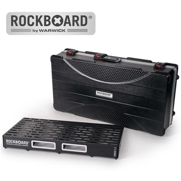 [2019 New] RockBoard CINQUE 5.3 with ABS Case 페달보드 + 케이스