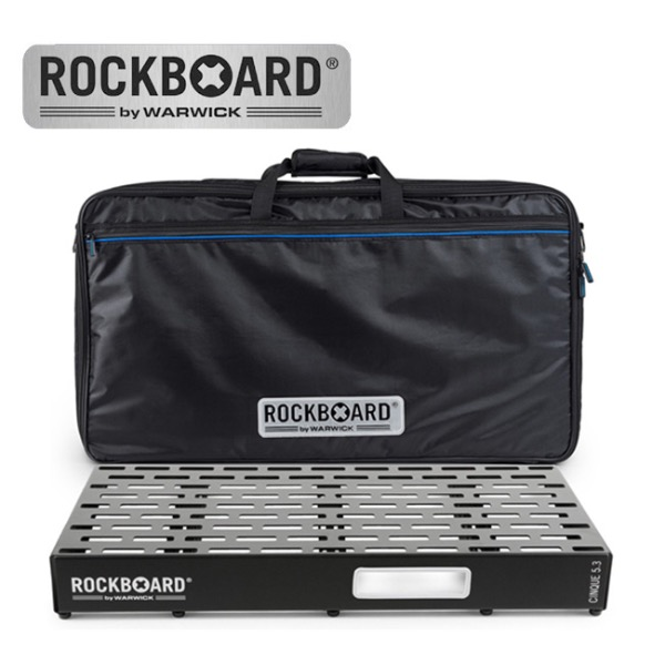 [2019 New] RockBoard CINQUE 5.3 with Pro Gig Bag 페달보드 + 케이스