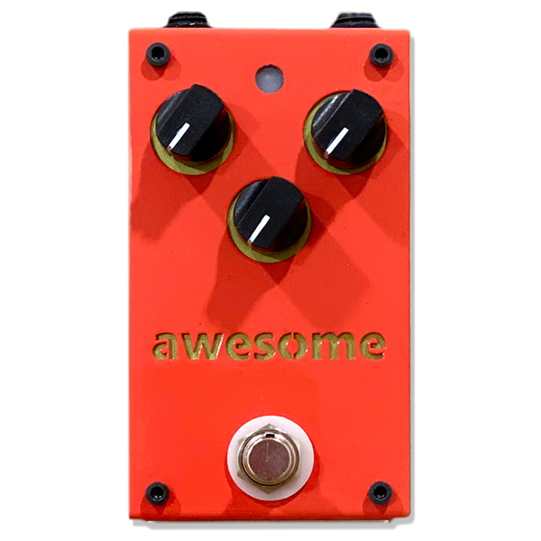A3 STOMPBOX AWESOME 오버드라이브 이펙터