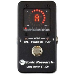 SonicResearch 터보튜너 Turbo Tuner st-300 full-size (국내정식수입품)