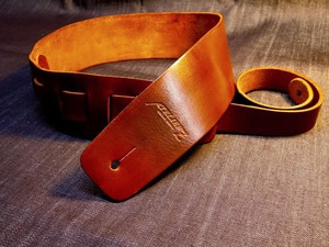 ATELIER Z ZHS-CLC00 XL BROWN Leather Strap 기타/베이스용 스트랩