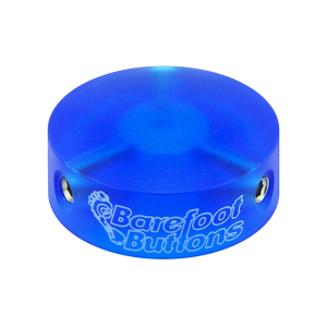 BAREFOOTBUTTONS  베어풋버튼 V1 COLORED ACRYLIC – BLUE (10mm)