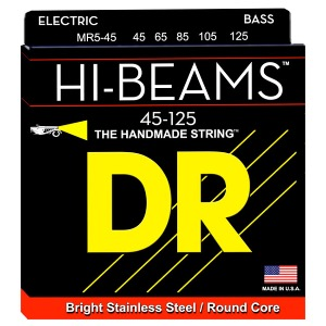 DR Hi Beam Stainless 5현 MR5-45 (045-125) 5현베이스용