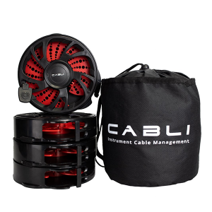 Singular Sound Cabli Cable Winder 4 pack with bag  케이블을 쉽게 정리하자