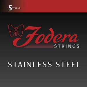 Fodera Handmade Bass Guitar String Stainless Steel 5 String(45-125)