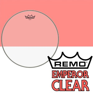 REMO - Emperor Clear 10인치 Top / 드럼 탐 헤드 (BE-0310-00)